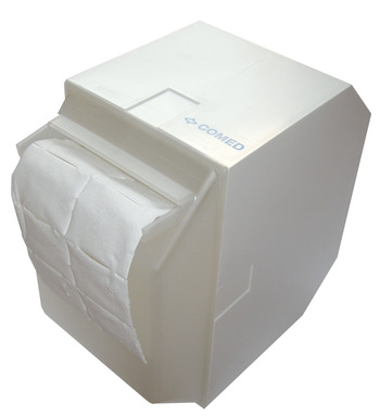 Dispenser box for swabs (image)